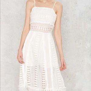 Nasty Gal White Dress